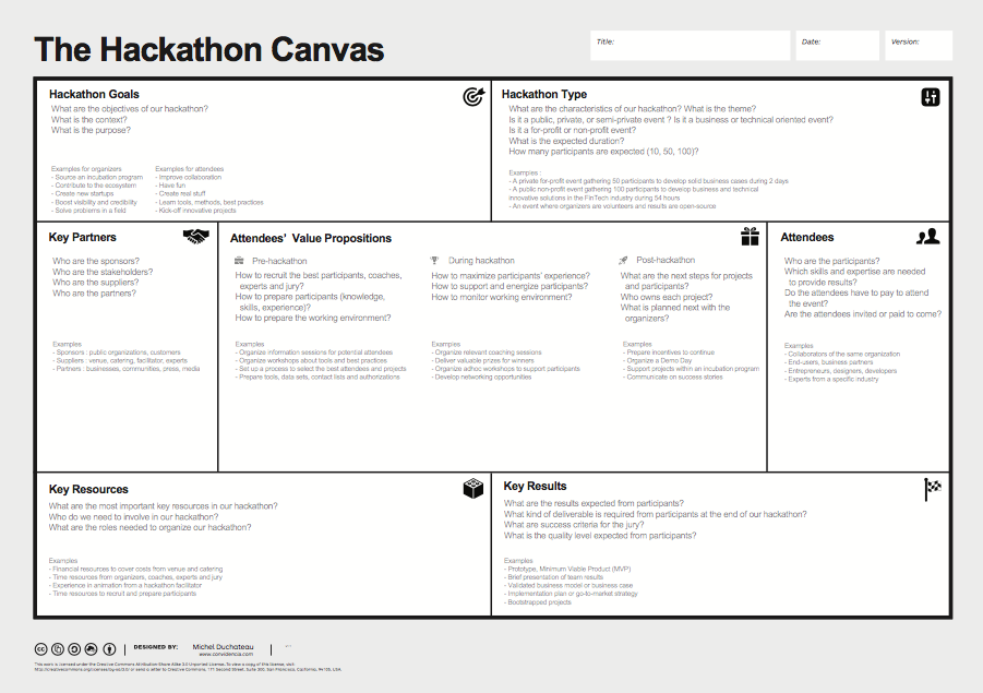 Hackathon Canvas